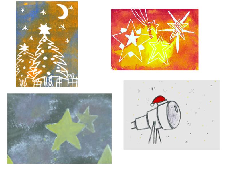 Weihnachtskarte der Ursulinenschulen 2017 vorgestellt